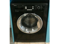 a712 black beko 9kg 1200spin A** rated washing machine comes with warranty can be delivered
