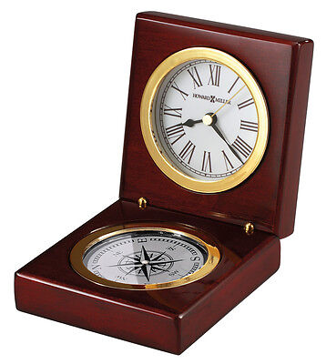 645-730   HOWARD MILLER TABLE CLOCK - PURSUIT
