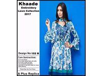 asian pakistani designer khaddi unstitched suit