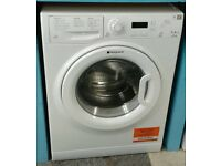 F359 white hotpoint 7kg 1400 spin washing machine with warranty can be delivered or collected