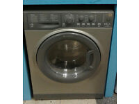 a432 graphite hotpoint 8kg&6kg 1400spin A rated washer dryer comes with warranty can be delivered