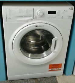 E359 white hotpoint 7kg 1400 spin washing machine comes with warranty can be delivered or collected