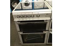 xb04 silver flavel 60cm gas cooker new graded with 12 months warranty can be delivered or collected