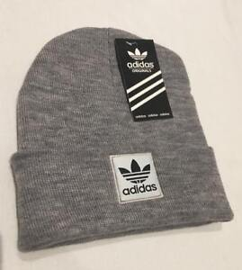 Adidas Beanie Warm Winter Unisex Man & Woman  Beanie Hat (grey )free postage