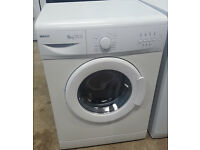 B337 white beko 6kg 1200spin washing machine comes with warranty can be delivered or collected