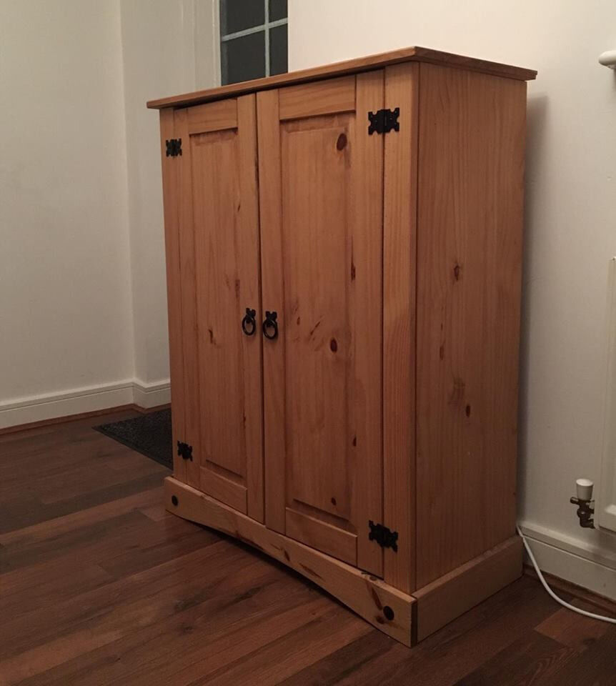 Kitchen Shelf Gumtree: Shoe Storage Cabinet Antique Pine