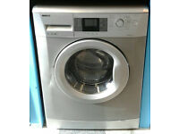 a682 silver beko 7kg 1600spin A++ rated washing machine come with warranty can be delivered