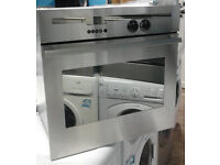 q244 stainless steel neff single electric oven comes with warranty can be delivered or collected