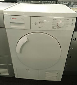 j373 white bosch 7kg condenser dryer comes with warranty can be delivered or collected