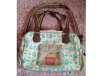 ↪️yummy mummy/pink lining baby bag ↩️