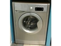 f225 silver indesit 7kg 1600spin washing machine comes with warranty can be delivered or collected