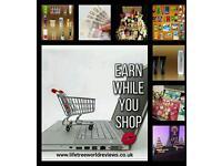 Earn money while you shop