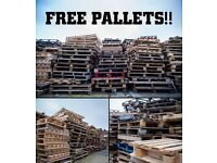 Free timber pallets for firewood, kindling, allotments, compost bins, raised beds...