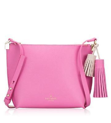 NWT Kate Spade WKRU3831 Pepper Foster Court Pink Shoulder Bag Handbag Crossbody
