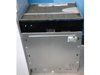 a517 stainless steel & black whirlpool integrated dishwasher new with manufacturers warranty
