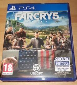 FAR CRY5 PS4
