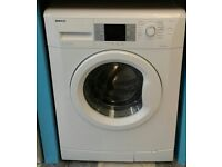 g300 white beko 7kg washing machine comes with warranty can be delivered or collected