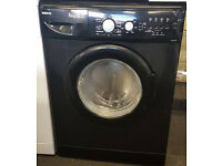 l247 black beko 6kg 1400spin washing machine comes with warranty can be delivered or collected