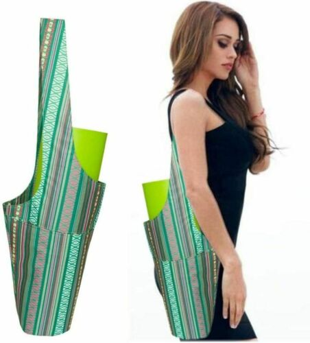Yoga Mat Bag Yoga Mat Tote with Large Side Pocket