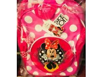 Brand New Disney Minnie Mouse BACKPACKS £5 EACH
