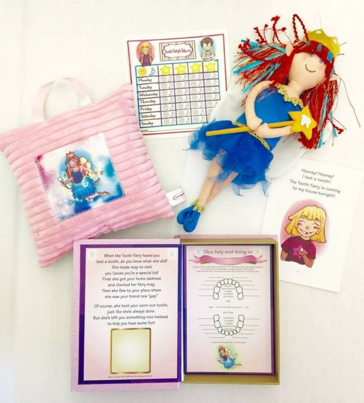 Tooth Fairy Kit for Girls by Tooth Fairy