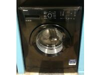 f364 black beko 7kg washing machine comes with warranty can be delivered or collected