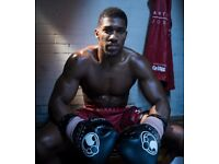 1-3 TICKETS FOR ANTHONY JOSHUA!