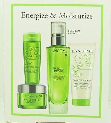 - Lancome Energie de Vie Antioxidant Glow Boosting Collection New CHOOSE