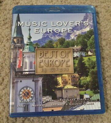 Best of Europe: Music Lover's Europe (Blu-ray/DVD