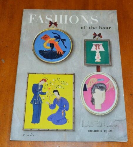 Marshall Field and Co Fashions of-the-Hour 1940 Autumn Catalog