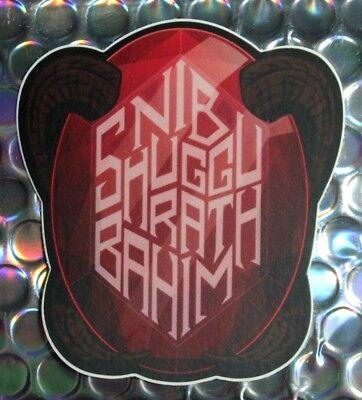 "WISHMASTER sticker / Vinyl Decal / 3"" Classic 90's Pop Culture Horror Movie Art"