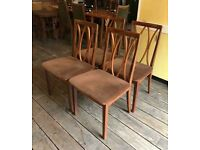 Set Of Four G-Plan Dining Chairs