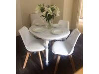 Vintage upcycled dining table