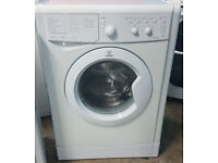 m483 white indesit 6kg A class 1000spin washing machine comes with warranty can be delivered
