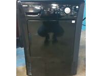 m487 black beko 7kg condenser dryer comes with warranty can be delivered or collected