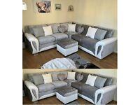 ❤️ Don't wait...! Order now Super sale 🥀on SHANNON CRUSH VELVET sofa👍👍 Corner & 2+3seater🌴