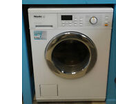 G092 white miele 5kg 1600spin washer dryer comes with warranty can be delivered or collected