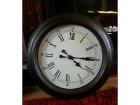 LARGE ANTIQUE EFFECT CLOCK
