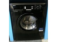 a568 black beko 7kg 1400spin washing machine comes with warranty can be delivered or collected