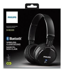 BRAND NEW CASQUE BLUETOOTH HEADPHONES PHILIPS SANS FIL WIRELESS ÉCOUTEURS SHB5500 STEREO CORDLESS CLEAR SOUND SON CLAIR