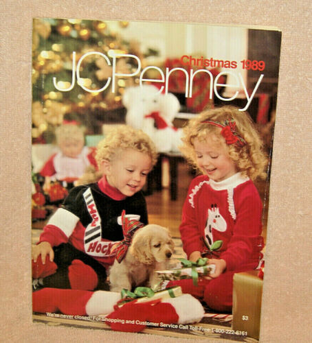 1989 JC PENNEY Christmas catalog - Excellent condition