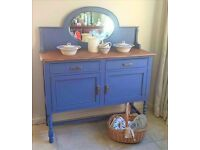 Antique Dresser/sideboard Restyled - Totally Unique