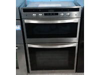 o515 stainless steel rangemaster double integrated electric oven comes with warranty can deliver
