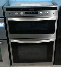 w515 stainless steel rangemaster double integrated electric oven comes with warranty can deliver