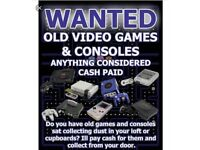 Wanted Consoles and Games