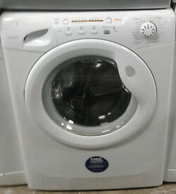 b362 white candy 8kg 1200spin A+A washing machine comes with warranty can be delivered or collected