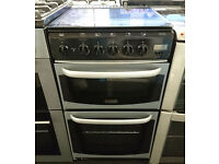 x156 silver cannon 50cm gas cooker comes with warranty can be delivered or collected