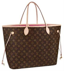 fd0bb95f8e50 Louis Vuitton Neverfull MM Monogram Canvas Pivoine for sale online ...