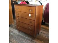 Chest Of Drawers - Retro / Vintage