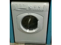 b069 white hotpoint 7kg 1600spin washer dryer comes with warranty can be delivered or collected